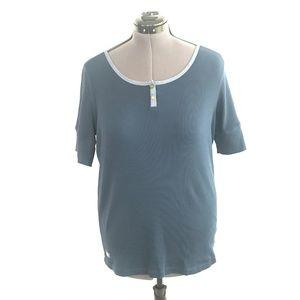 Ralph Lauren Blue Blouse top